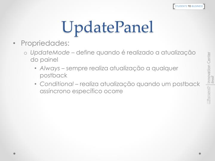 UpdatePanel