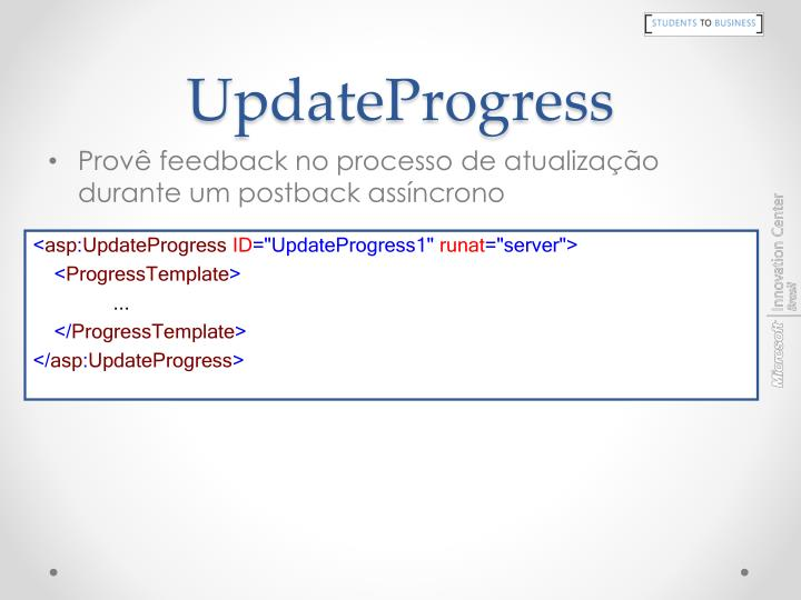 UpdateProgress