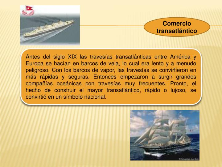 Comercio transatlntico