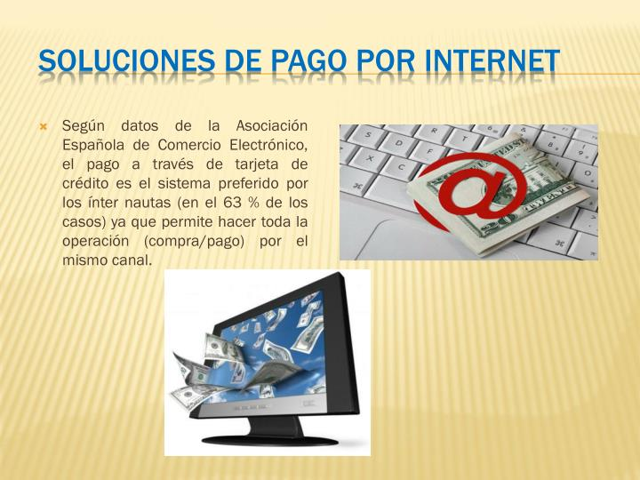 Soluciones de Pago por Internet