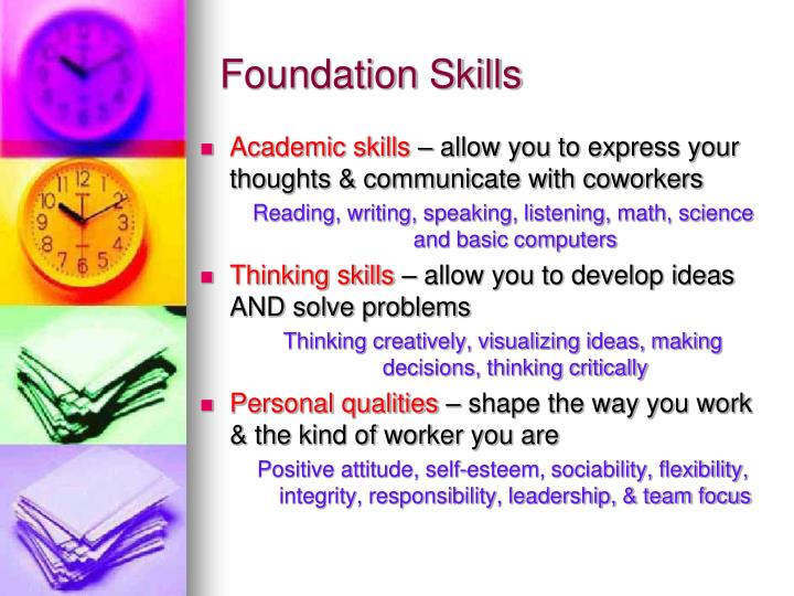 Foundation Skills