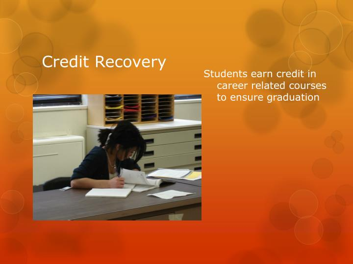 Students earn credit in