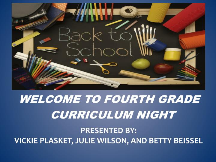 Presented by vickie plasket julie wilson and betty beissel