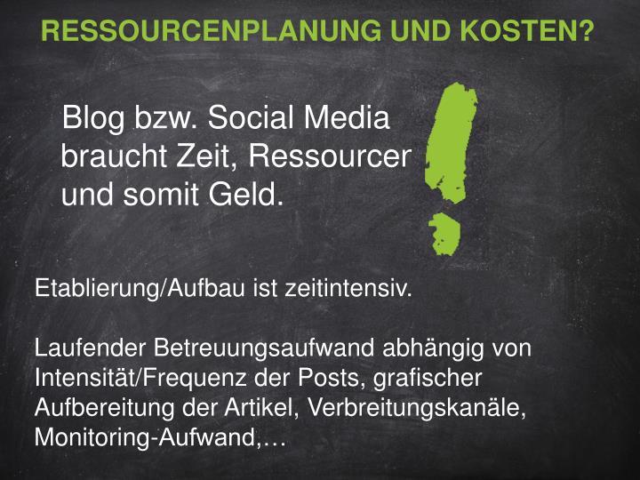 Ressourcenplanung