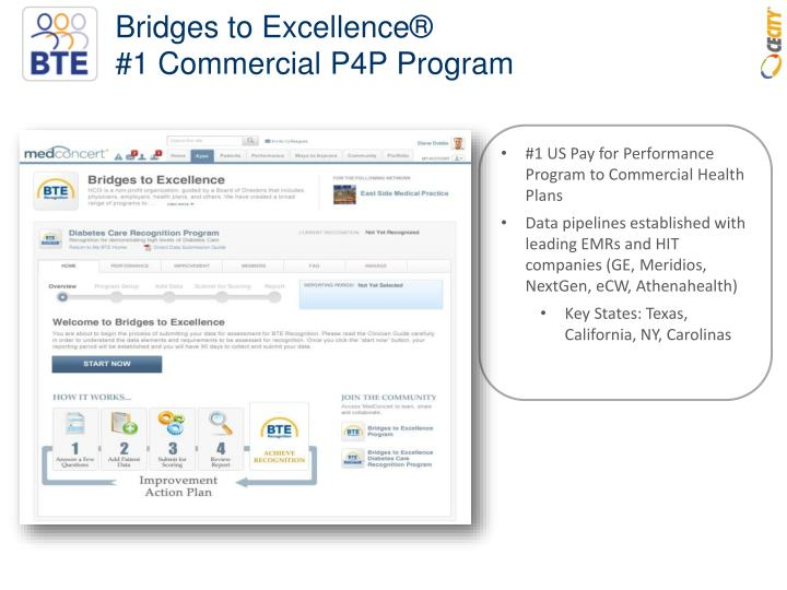 Bridges to Excellence®