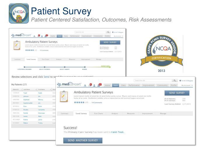 Patient Survey