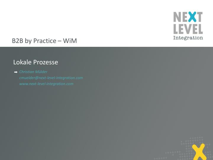 B2B by Practice –
