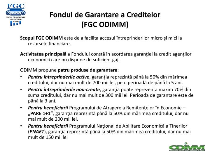 Fondul de Garantare a Creditelor