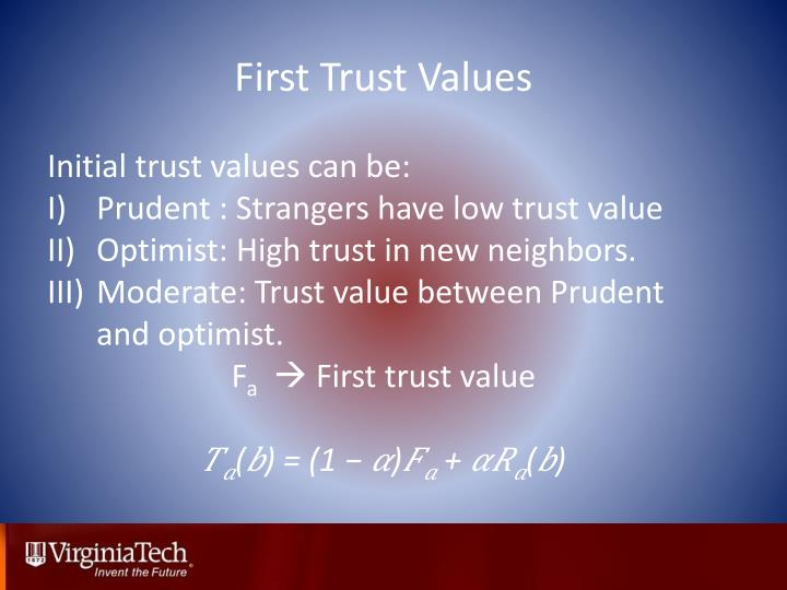 First Trust Values