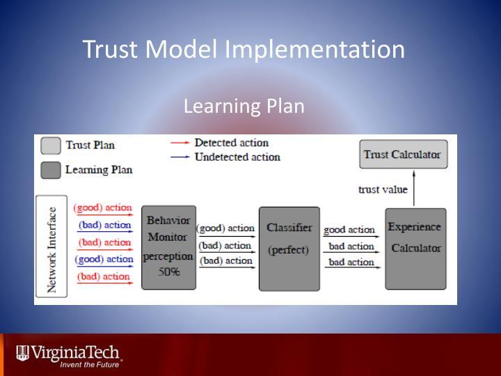 Trust Model Implementation