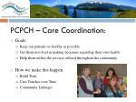 pcpch care coordination