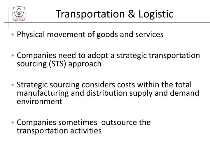 Transportation & Logistic