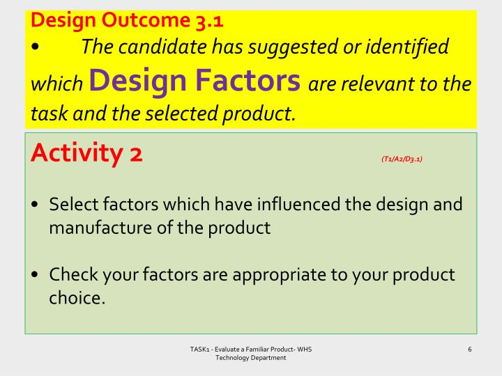 Design Outcome