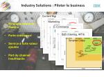 industry solutions piloter le business1