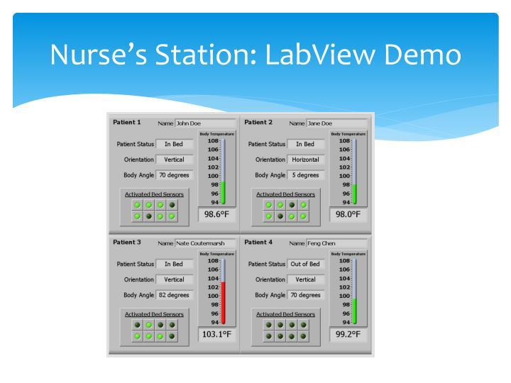 Nurse's Station: