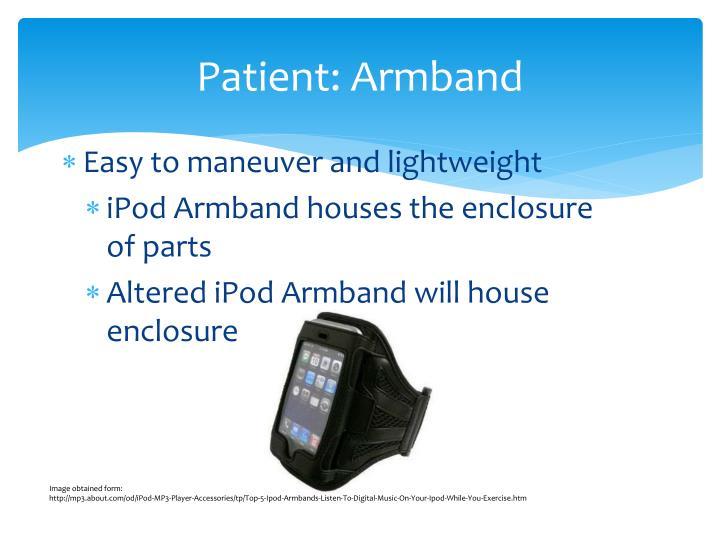 Patient: Armband