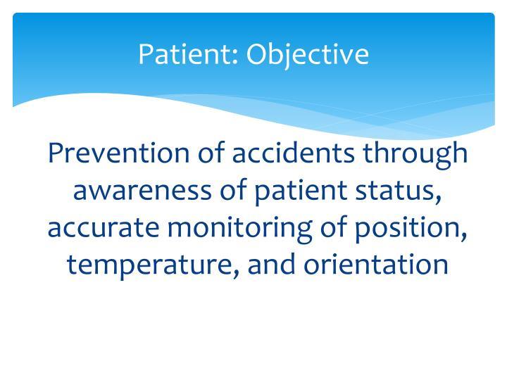 Patient: Objective