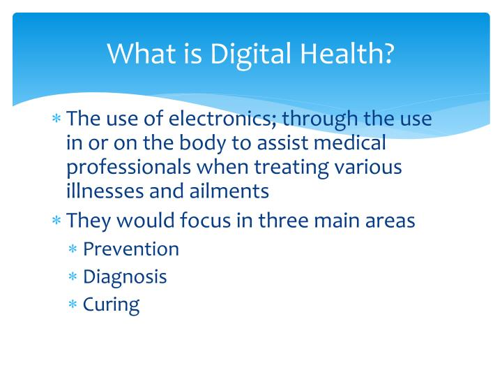 What is Digital Health?