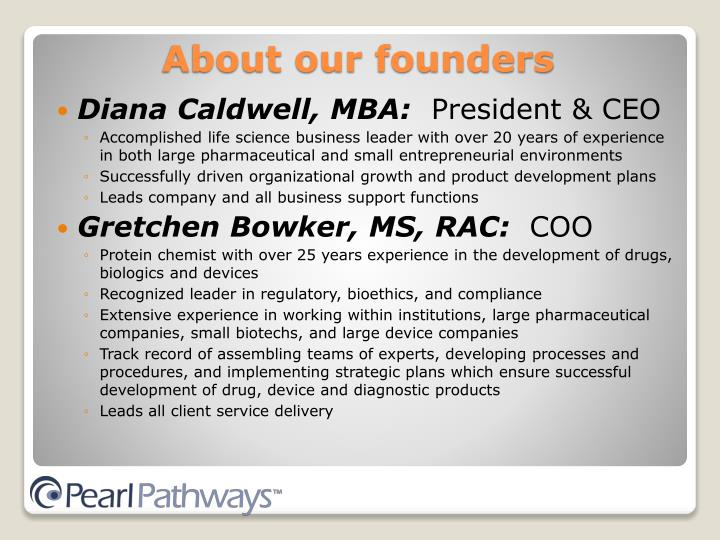 Diana Caldwell, MBA: