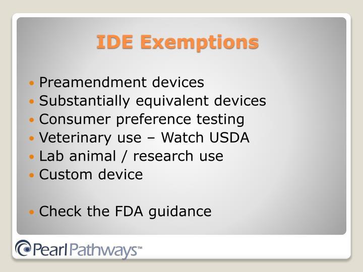 Preamendment devices
