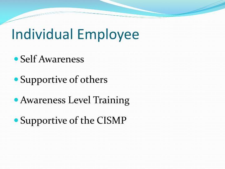 Individual Employee