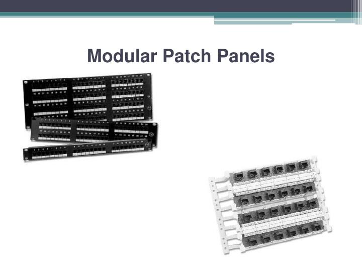 Modular Patch Panels