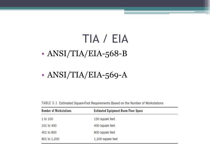 TIA / EIA