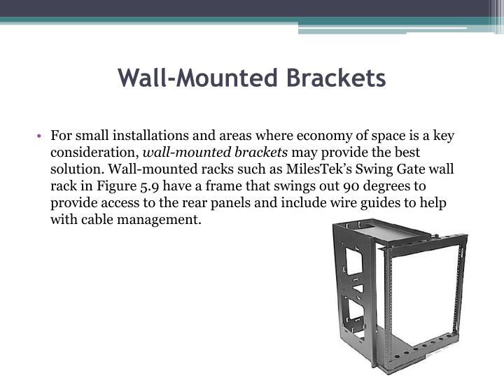 Wall-Mounted Brackets
