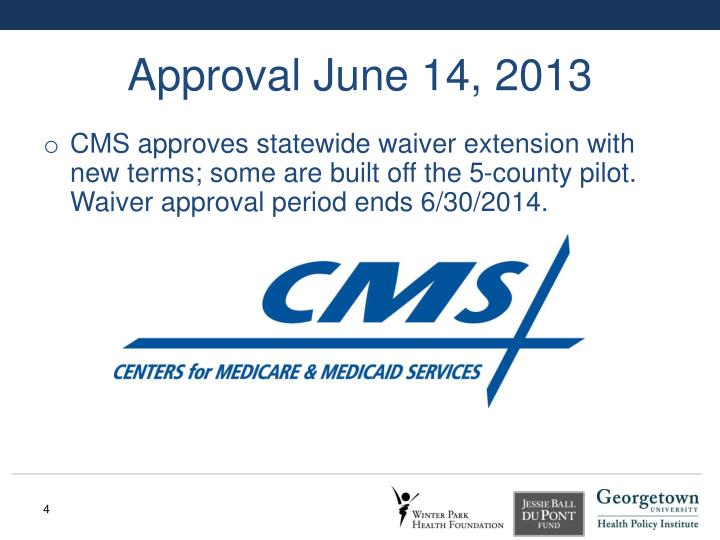 Approval June 14, 2013