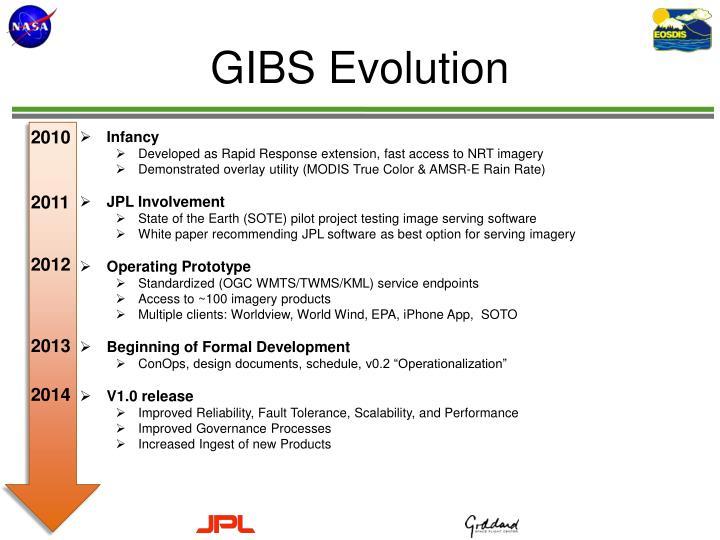 GIBS Evolution