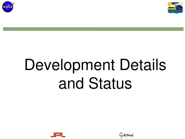 Development Details