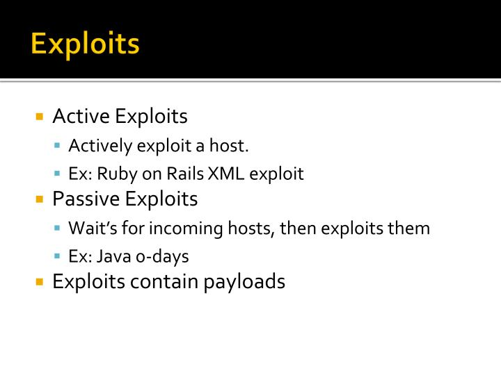 Exploits