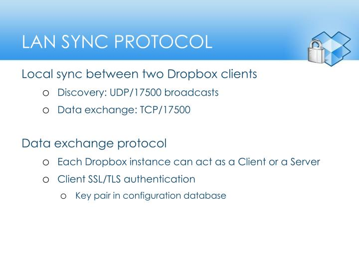 LAN Sync protOcol