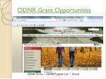 odnr grant opportunities