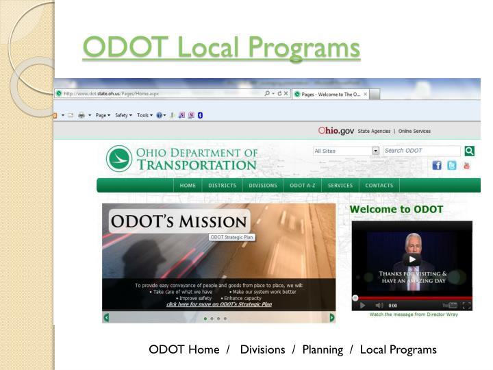 ODOT Local Programs