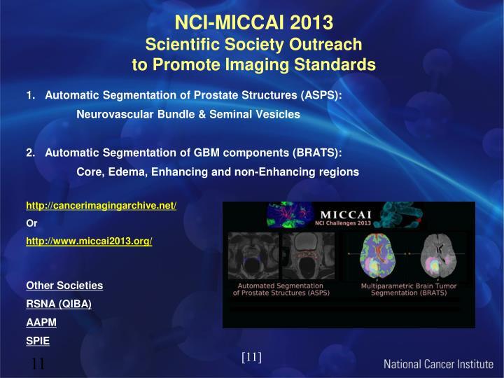NCI-MICCAI 2013