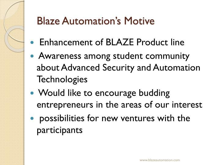 Blaze Automation's Motive