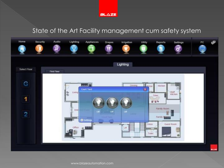 State of the Art Facility management cum safety system