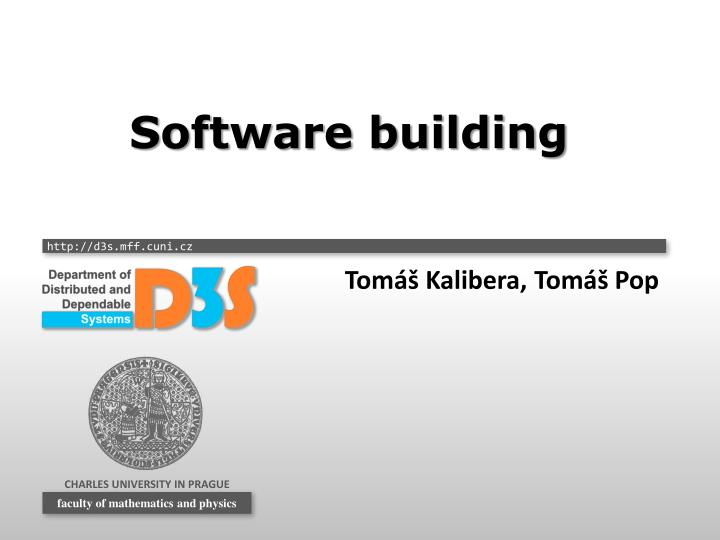 Software building