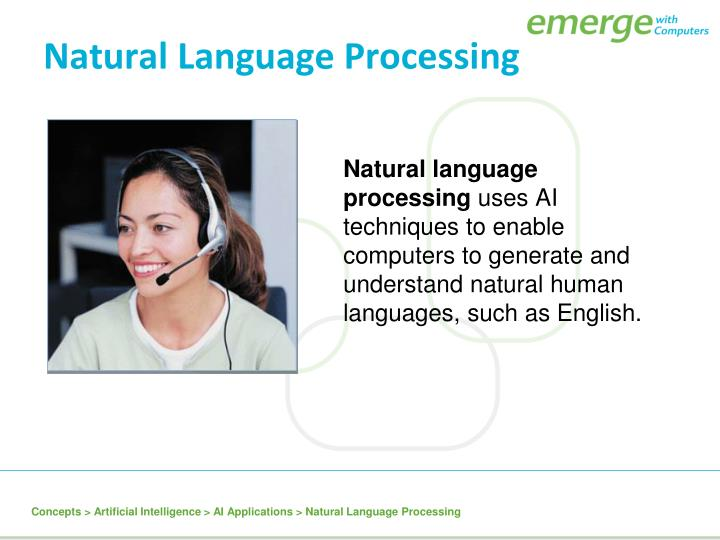 a report on artificial intelligence natural language processing The natural language processing  intelligence artificial  the challenges our team faces stem from the highly ambiguous nature of natural language.
