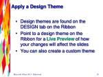 apply a design theme1