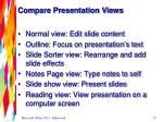 compare presentation views1