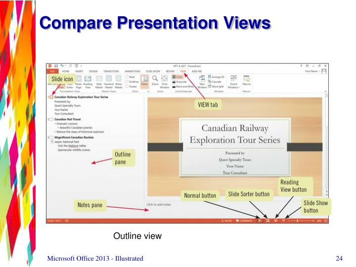 Compare Presentation Views