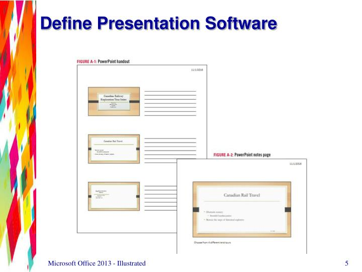 Define Presentation Software