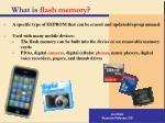 what is flash memory