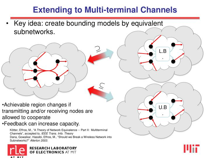 Extending to Multi-terminal Channels