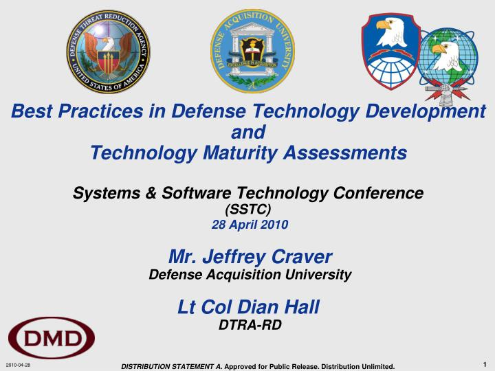 Best Practices in Defense Technology Development and