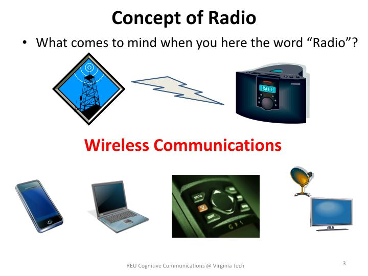 Concept of Radio