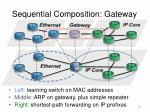sequential composition gateway