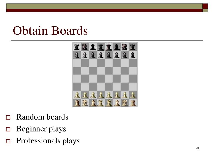 Obtain Boards